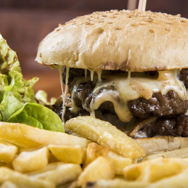 Double Raclette Burger