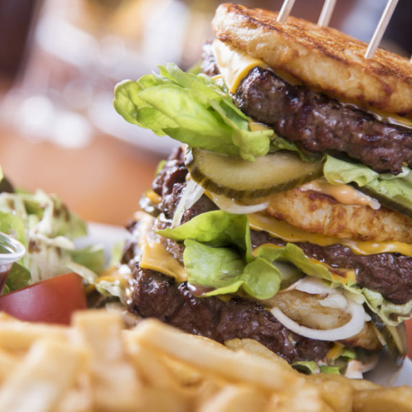 Triple Country Burger