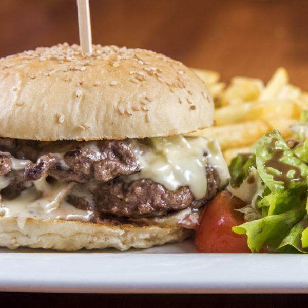 Double Camembert Burger